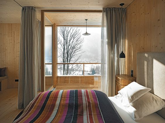 Florian Nagler - Hotel Tannerhof renovation and addition, Bayrischzell 2011.