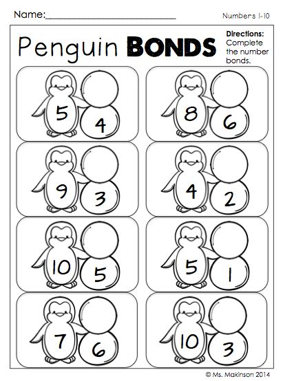 Number Names Worksheets winter worksheets for first grade : Maths, Winter and Printables on Pinterest