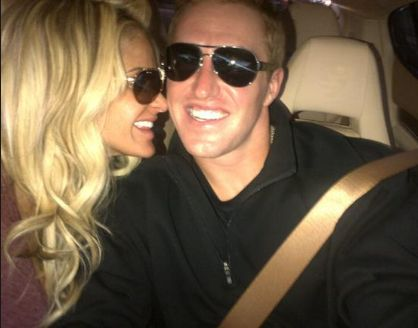 Kroy Biermann and Kim Zolciak. Love them! Kroy is solely the only reason I will be watching football this season! Go falcons :-)