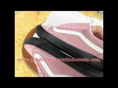 Sepatu Sneakers Vans Og Old Skool Lx Suede Canvas Ash Rose