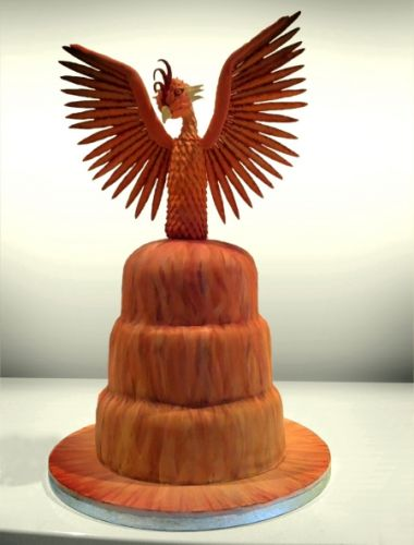Phoenix Cake Harry Potter Wedding Pinterest Phoenix The Rise