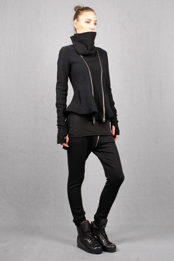 Andrea Ya'aqov | double zip jacket