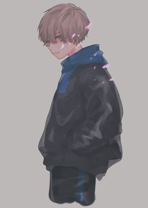 April かわいいアニメの少年 アニメ 男性 アニメファンアート