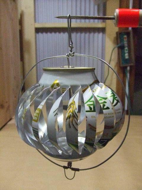 風車 空き缶