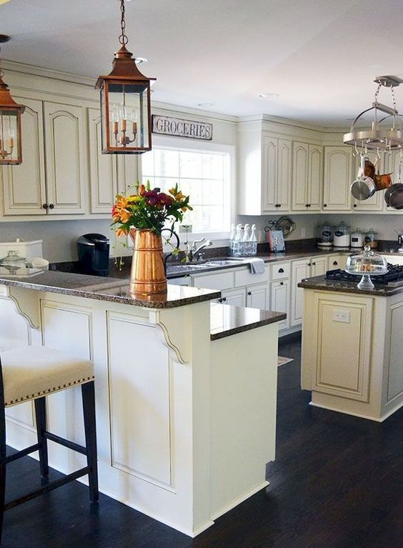 Cool 40 French Country Style Kitchen Decoration Ideas More At Http 88homedecor Com 2018 02 04 Country Kitchen Designs Country Style Kitchen Country Kitchen