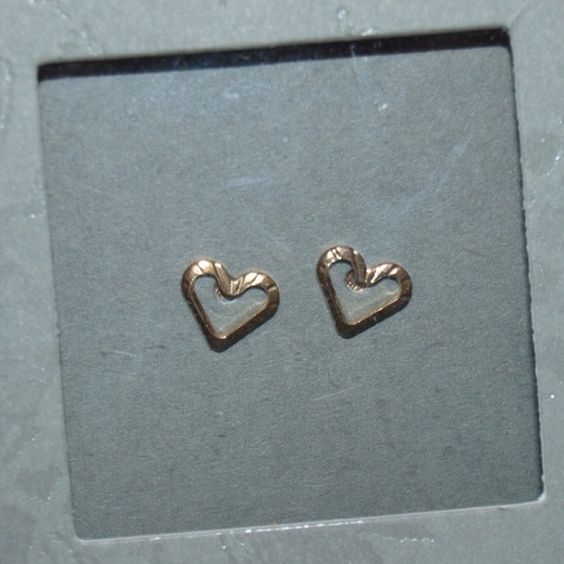 $5 18K gold urban outfitters earrings Brand new in box! Box is a bit scuffed up. These are 18K gold plated sterling silver earrings. Very cute! Makes a great gift! Urban Outfitters Jewelry Earrings