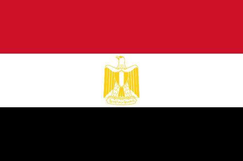 Drapeau égyptien