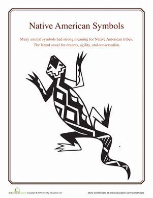 Lizard Symbol Meaning Native American Symbols