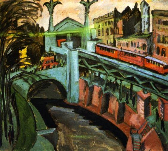 Ernst Ludwig Kirchner - Hallesches Tor Berlin