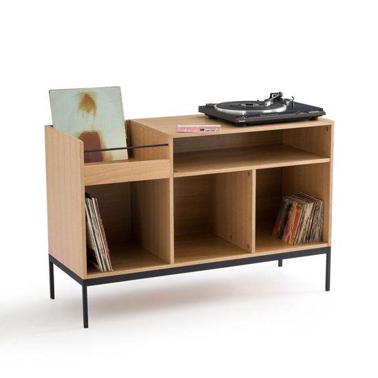 Meuble Vinyle Quel Modele Choisir Pour Un Interieur Au Look Vintage Meuble Vinyle Mobilier De Salon Et Stockage De Vinyle