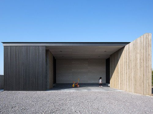 One-story Building of Nakatsu by Matsuyama Architects and Associates