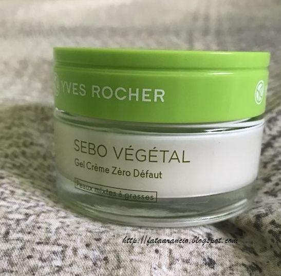 Yves Rocher Sebo Végétal Gel Crema Zero Difetti review fataarancio - 1