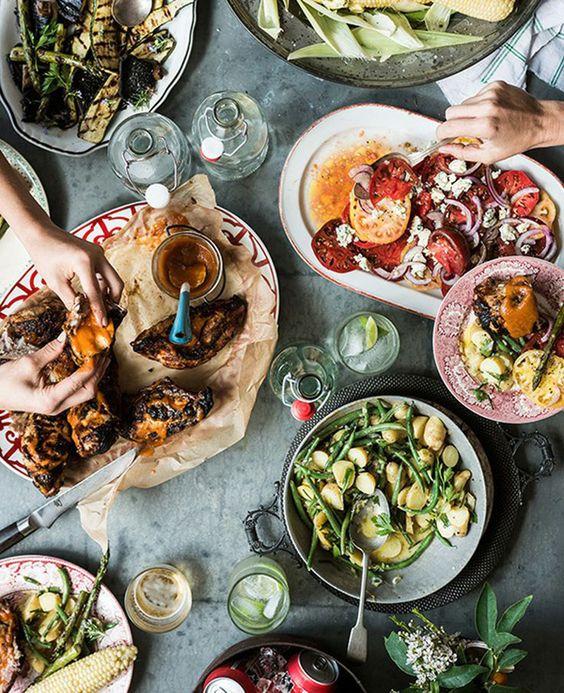 5 wedding menu Ideas for the couple that loves food. Image via Amy Neunsinger.
