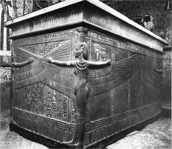 Stone Sarcophagus of Tut (circa 1345-1327 B.C)