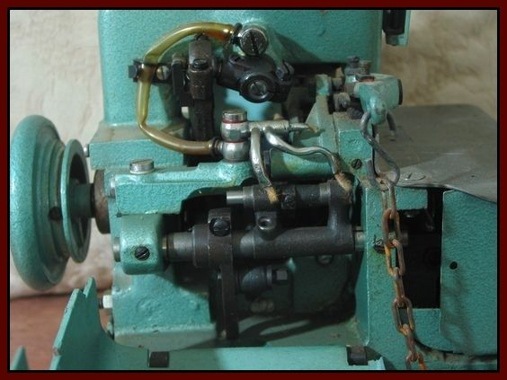 Mercury Over Lock M-81A-3 Sewing Machine 1940's or 1950's  Junk0928  http://ajunkeeshoppe.blogspot.com/