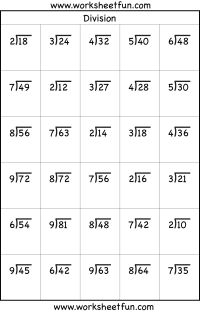 Worksheets Short Division Worksheets collection of short division worksheets sharebrowse sharebrowse