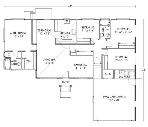 HPM Waiolu Packaged Home Floorplan   Happy Home House Plans    HPM Waiolu Packaged Home Floorplan   Happy Home House Plans   Pinterest   Home