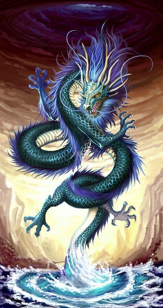 青龍・上り龍・ドラゴンのかっこいい壁紙・イラスト・高画質画像まとめ!