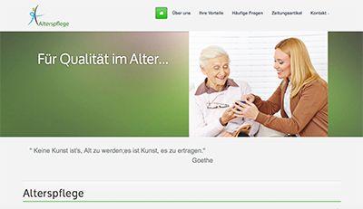 Design z.B. für: Alterspflege, Zahnarzt-Praxis, Arzt-Praxis...