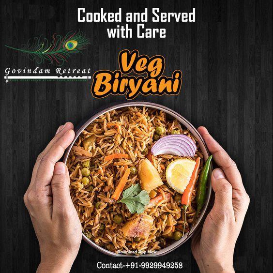 Biryani Is Popular Throughout The Indian Subcontinent As Well As Among The Diaspora From The Region Enjoy The Taste Of Biryani With Veg Biryani Food Biryani