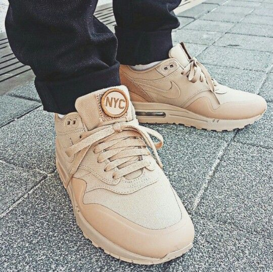 Nike Air Max 1 Patch Sand leoncamier.co.uk