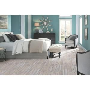 TrafficMASTER 12 in. x 24 in. Peel and Stick Gray Linear Travertine Vinyl Tile SS1215 at The Home Depot - Mobile