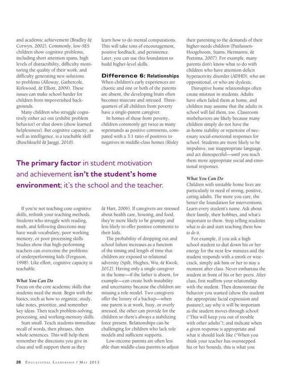 Educational Leadership - May 2013 - Page 28
