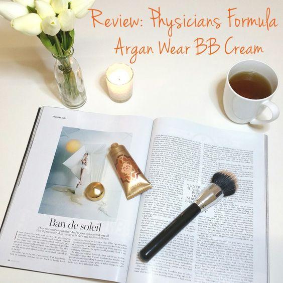 Review: Physicians Formula Argan Wear BB Cream.