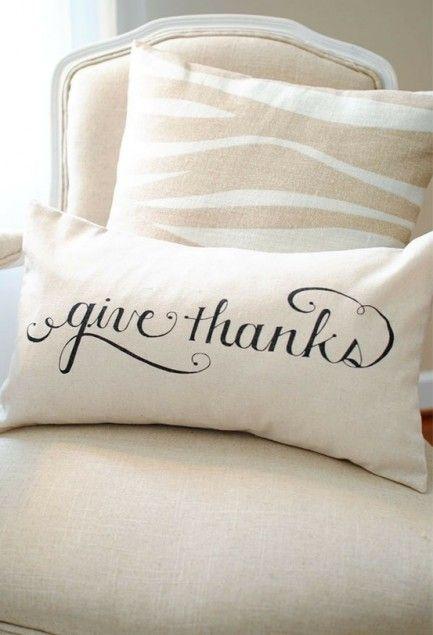Thanksgiving Style DIY