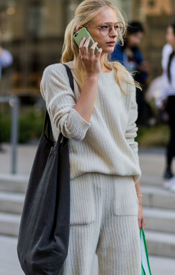 #off white #sweater #look #street style