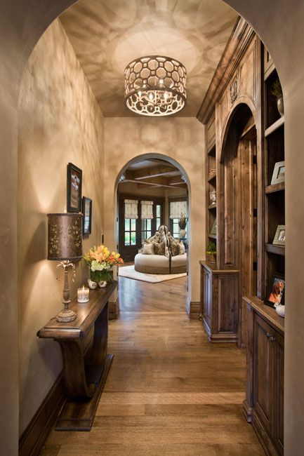 Hallways home interiors and home interior design on pinterest for Beautiful home lighting