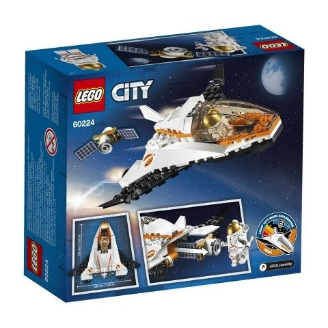 Lego City Is Going To Outer Space With 6 New Sets For Summer 2019 News The Brothers Brick Lego City Space Lego City Lego City Sets