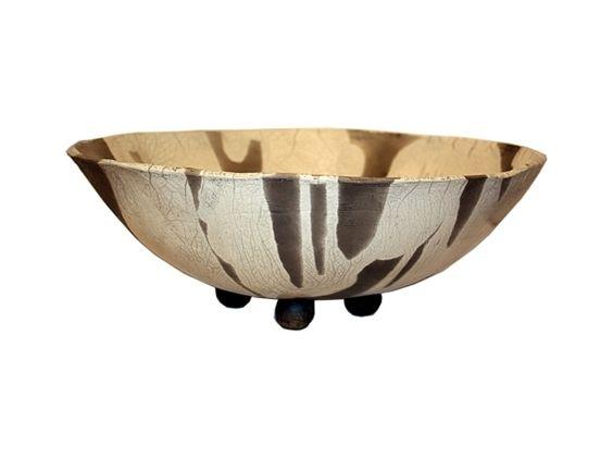 Große Schale Raku - Keramik von Keramik und Glas Matthias Lehmann auf DaWanda.com