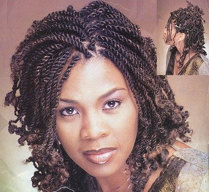 Superb Black Women Twists And Black Hairstyles On Pinterest Hairstyles For Women Draintrainus
