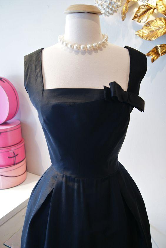 Little black dress perfection by Harvey Berin.
