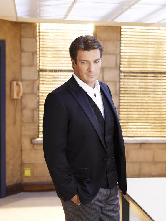 Nathan Fillion...a gorgeous specimen of a man, and a monster nerd to boot!