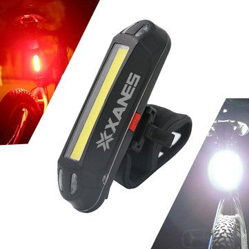 XANES ZL01 800LM T6 Bicycle Light Three Modes Zoomable Night Riding USB Recharge