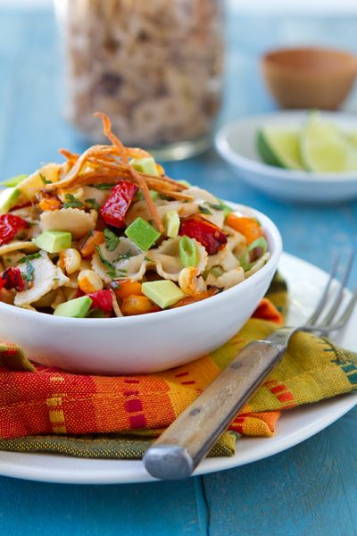 Mexican Pasta Salad - By Nancy Buchanan - From A Communal Table