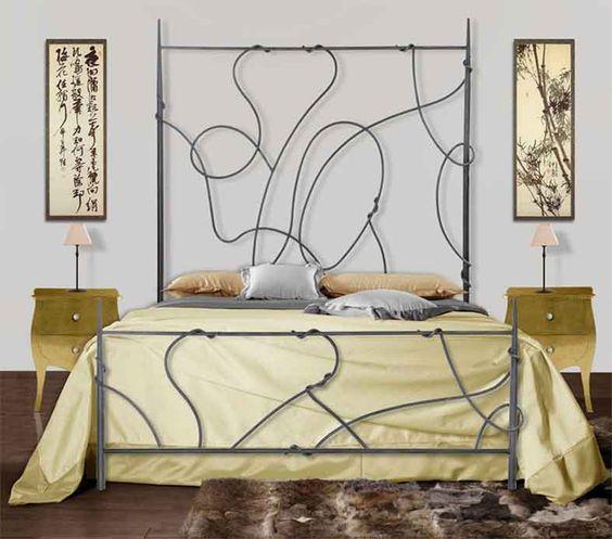 Camas de forja modelo ASIA. Decoracion Beltran, tu tienda de camas de forja en Internet. www.decoracionbeltran.com