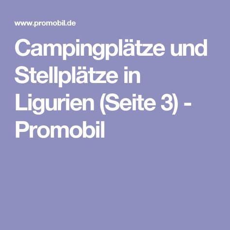 Mobil Tour In Ligurien Camping Und Stellplatze Fur Die Region