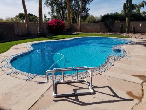 Choosing A Pool Net Color Katchakid Pool Safety Net Pool Nets Pool Safety Net Pool