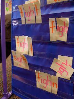 spelling station idea