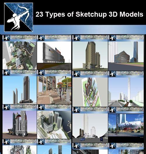 Best 23 Types Of Commercial Building Sketchup 3d Models