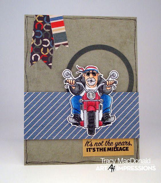 Easy Rider I Wanna Build A Memory Art Impressions Cards Card