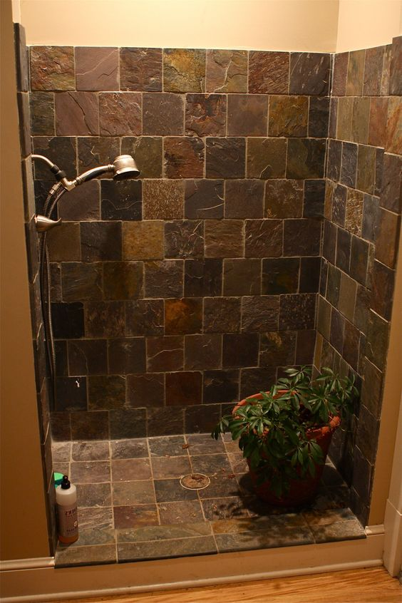 Diy Shower Door Ideas Bathroom With Doorless Shower