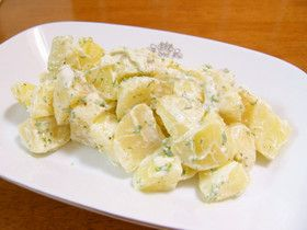 Potato Salad with Garlic Aioli Sauce 簡単おいしい☆じゃが芋アリオリサラダ