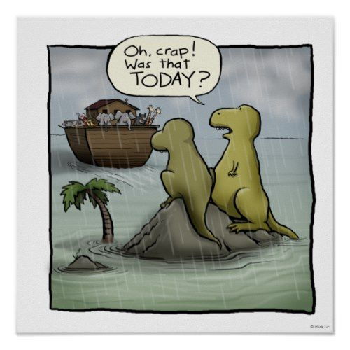 Far Side Comic Flood That Was Today
