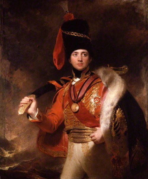antolldubh:  Portrait of Charles William (Vane) Stewart, later 3rd Marquess of Londonderry by Thomas Lawrence, 1812.