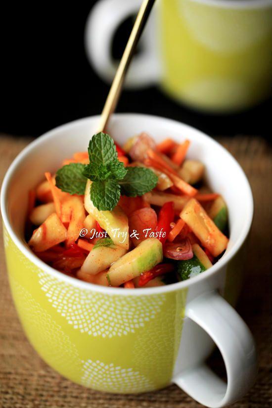 Resep Acar Merah Nanas Ketimun Wortel Makanan Resep Makanan Enak