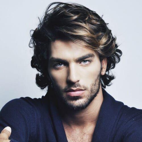 49+ Thick hair medium length haircuts for men ideas